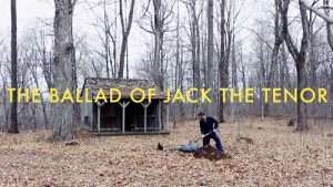 A man buries a rival he has just killed in the ground in this comedic short film