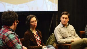 Filmmakers Sarah Goodman and Kazik Radwanski discuss the Canadian film industry and financing