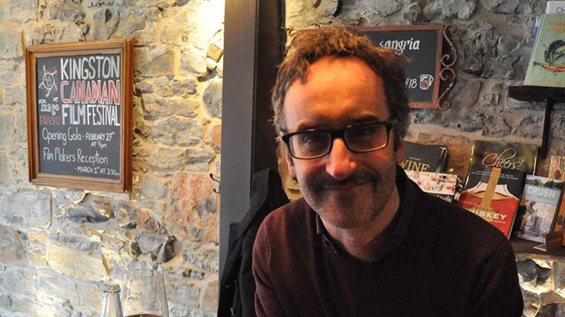 Canadian director, actor and writer Don McKellar at the Kingston Canadian Film Festival